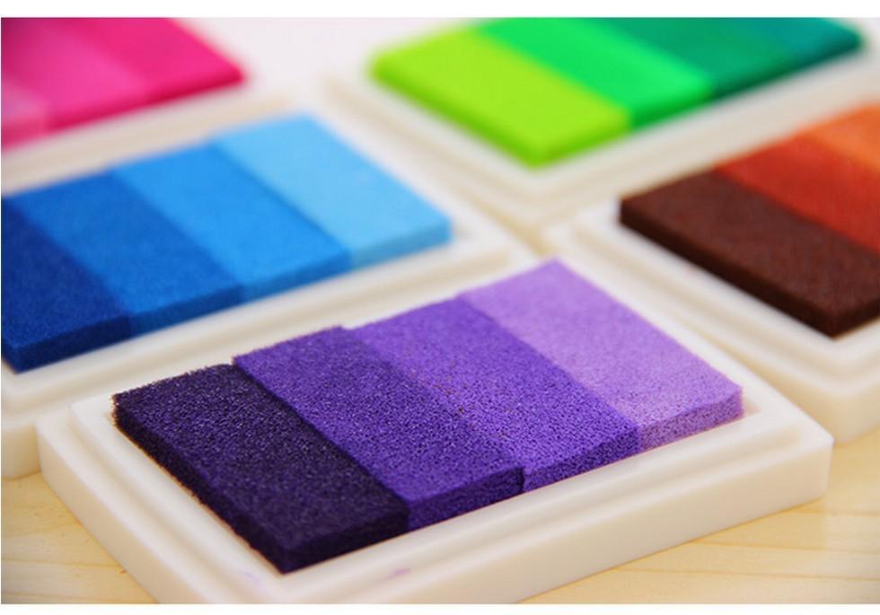 tintas de colores para laminas de huellas