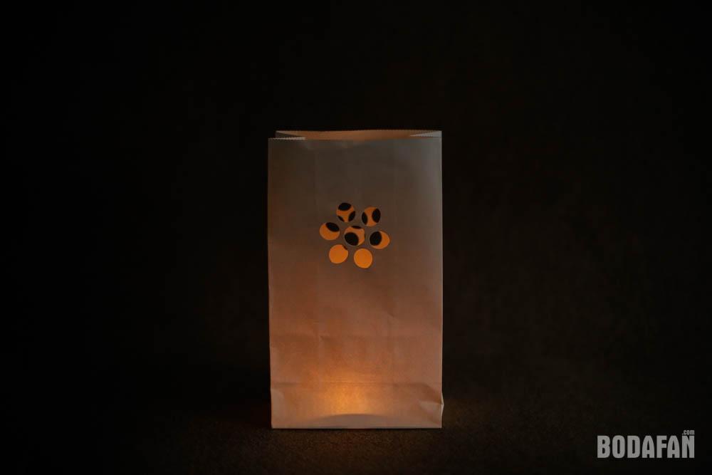 Bolsas de papel para velas para decorar bodas y eventos - Bolsas de papel para velas ...