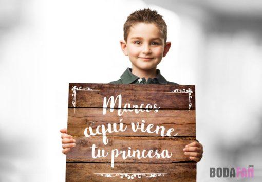 cartel-nino-boda-entrada-novia-tuprincesa1jpg