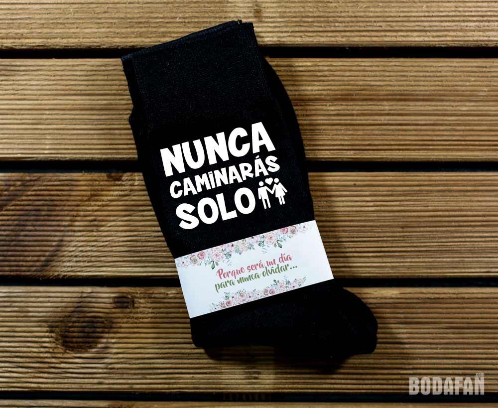 calcetines-boda-personalizados-nunca-caminaras-