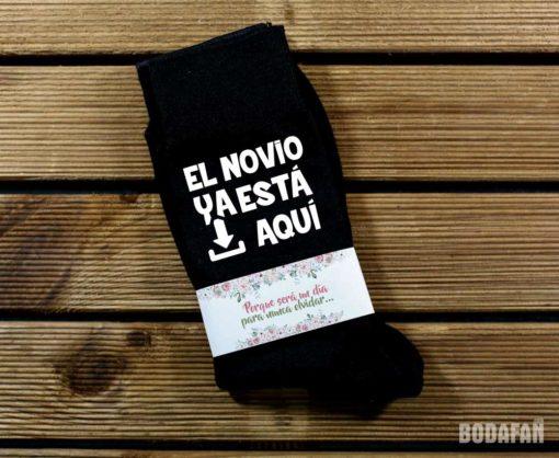 calcetines-personalizados-el-novio-ya-esta-aqui