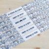 Pulseras personalizadas con dibujos para bodas