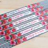Pulseras de tela para bodas con nombres